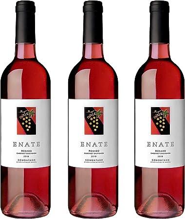 ENATE Cabernet Sauvignon - Añada 2019, Vino Rosado - D.O. Somontano - Pack de 3 Botellas - 75cl