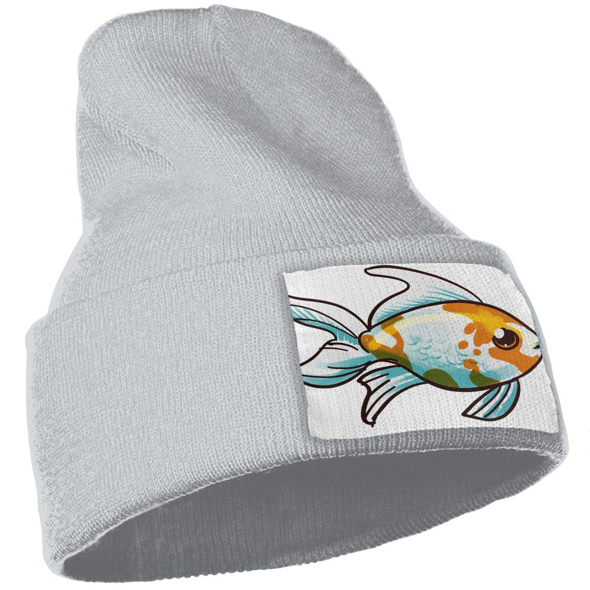 QZqDQ Comet Goldfish Unisex Fashion Knitted Hat Luxury Hip-Hop Cap