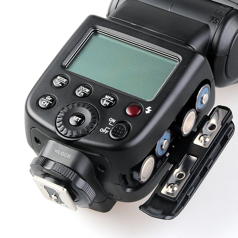 Godox TT600 2,4 G, con gatillo Integrado Flash inal/ámbrico para c/ámara Canon Nikon Pentax Olympus Fujifilm