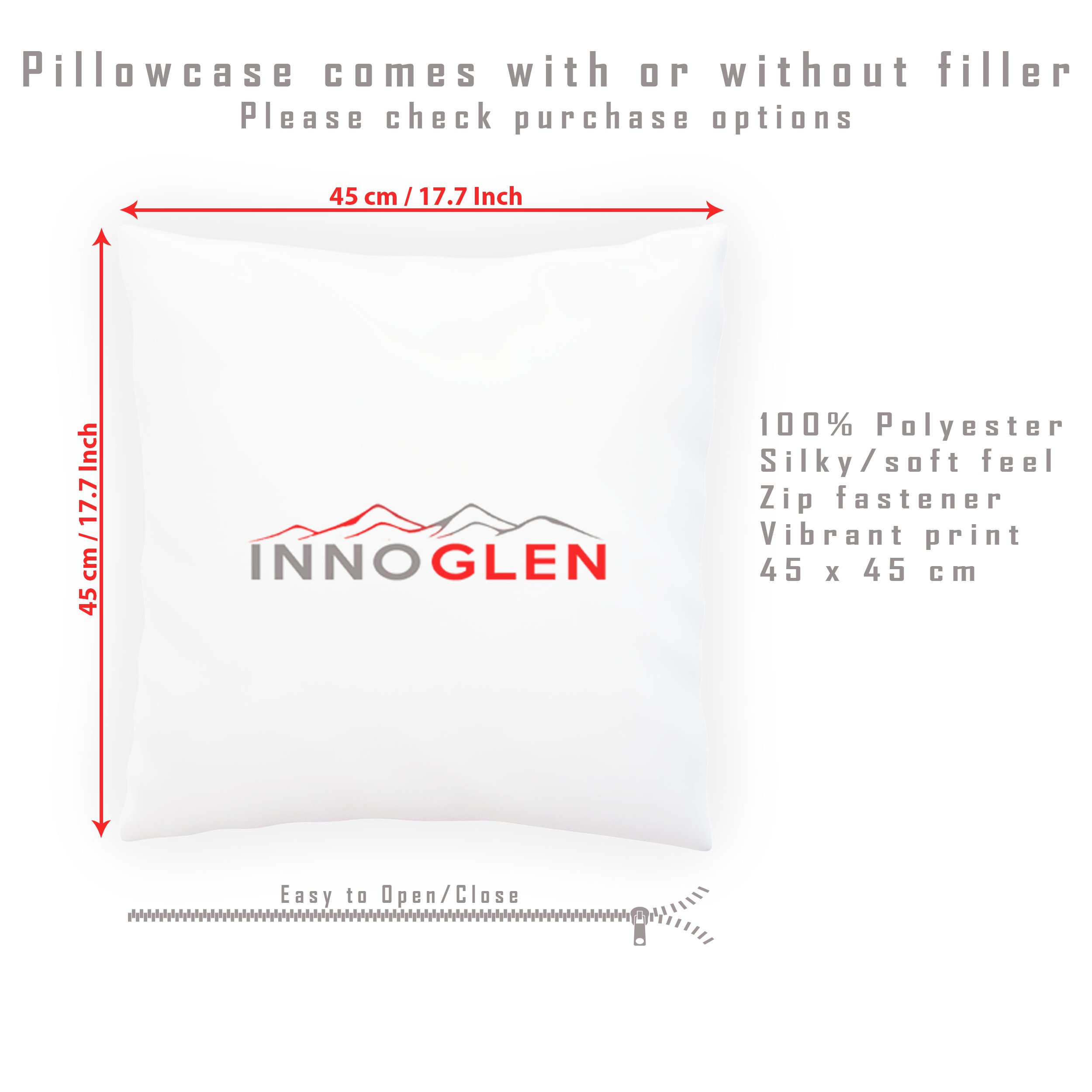 Beauty Relax Health Spa Decorative Pillow , Cushion cover with Insert or Without o688p by INNOGLEN (Image #1)
