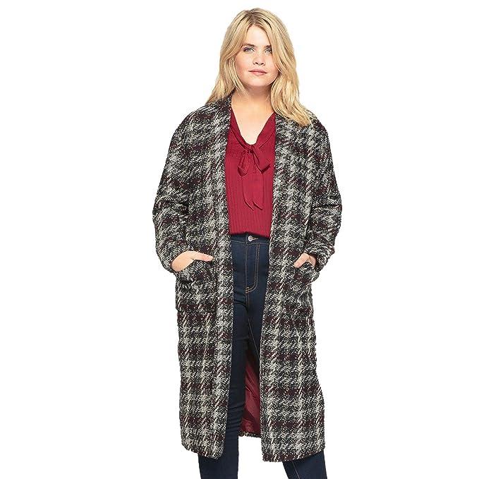 La Redoute Abrigo - para mujer cuadros 50