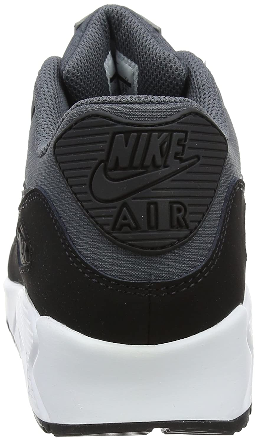 new arrival 5b199 76b5f ... Nike Air Max 90 Chaussures Hommes Gris Salle Blanche n2zTh ...