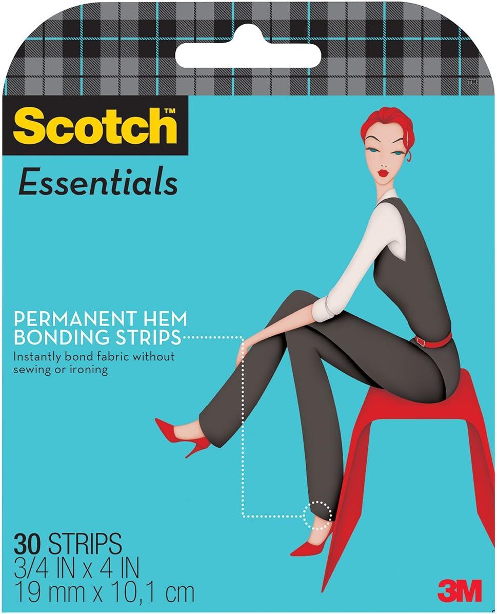 Korbond Hemming Web 20 Metre Sew Free Permanent Fabric Bond