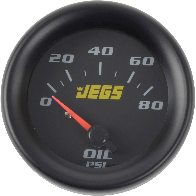 JEGS 41450 2-1/16' Oil Pressure Gauge