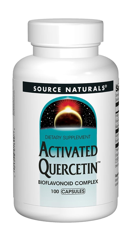 Source Naturals Activated Quercetin, 100 Capsules: Amazon.es: Salud y cuidado personal