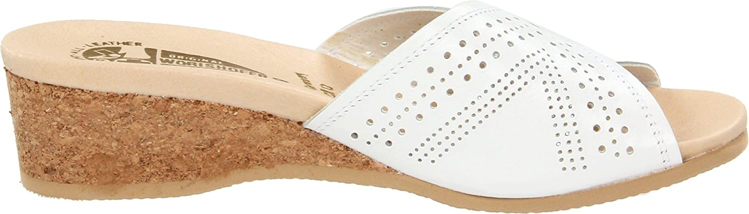 Worishofer Women's 251 Sandal B001MS79CQ 42 EU M)|White (US Women's 12 M)|White EU b28862