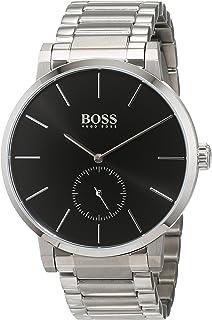 b92aa251af08 Hugo BOSS Reloj Cronógrafo para Hombre de Cuarzo con Correa en Cuero ...