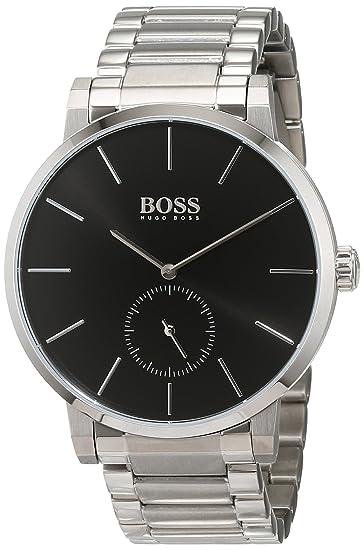 Hugo BOSS Reloj Análogo clásico para Hombre de Cuarzo con Correa en Acero Inoxidable 1513501: Hugo Boss: Amazon.es: Relojes