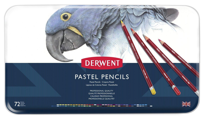 ダーウェント 色鉛筆 パステルペンシル 72色セット 32996 B000P6YNFW  72色