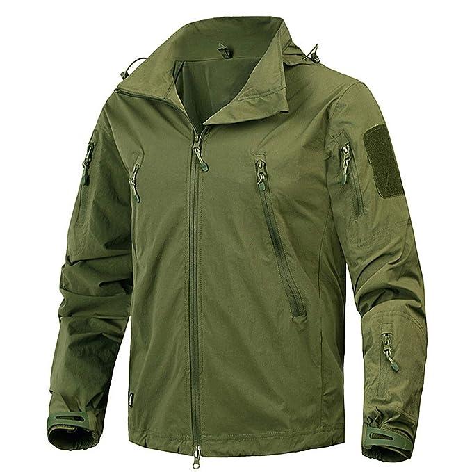 Amazon.com: 87 ropa Mege chaqueta para hombre chaqueta ...
