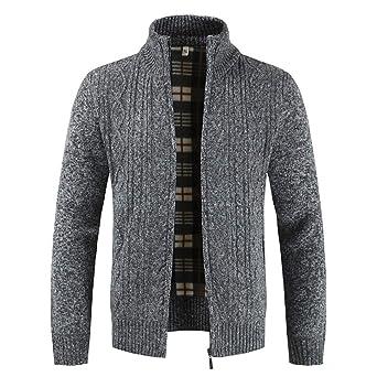 Oyedens Strickjacke Reißverschluss Herren | Hochwertige Trachten Strickjacke | Trachtenjacke Männer aus Feiner Wolle in Vielen Farben