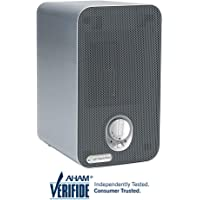 GermGuardian AC4100 3-in-1 Desktop Air Purifier for Home, HEPA Filter, UVC Sanitizer, Air Cleaner Traps Allergens, Smoke, Odors, Mold, Dust, Germs, Smokers, Pet Dander, Germ Guardian Room Air Purifier