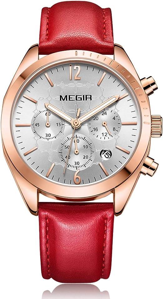 Reloj Mujer Reloj de Pulsera para Mujer (Cuarzo, Resistente al ...