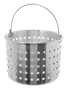 Update International (ABSK-32) 32 Qt Aluminum Steamer Basket
