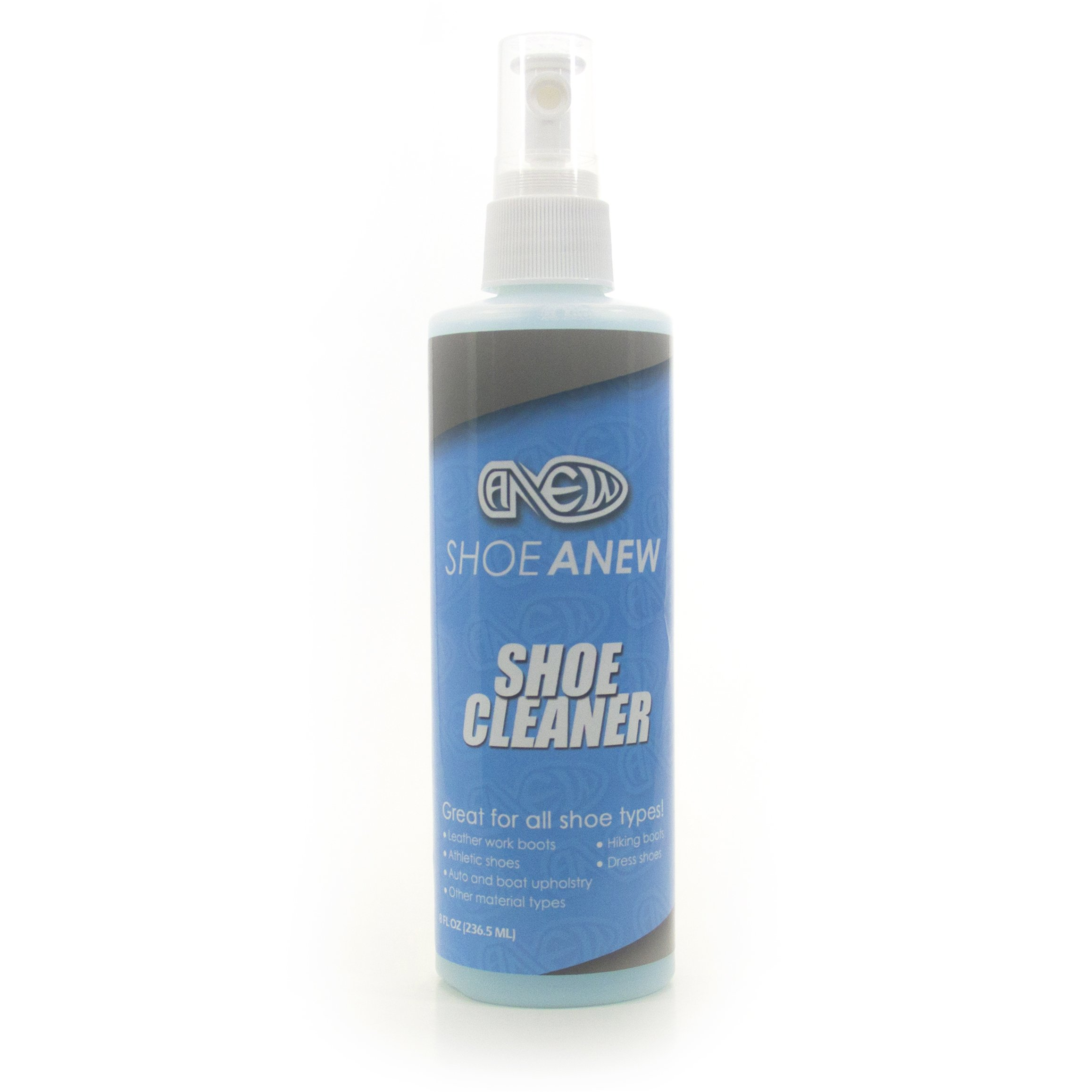 ShoeAnew - Shoe Cleaner - 8 Oz. Fabric Cleaner Solution