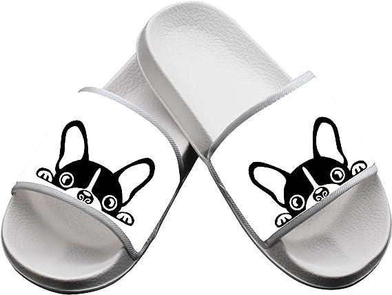 Cartoon Cute Egg Pattern Summer Slide Slippers For Men Women Kid Indoor Open-Toe Sandal Shoes