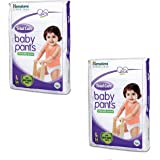 Himalaya Total Care Baby Diaper Pants (White_54 Count_Large)- Pack of 2