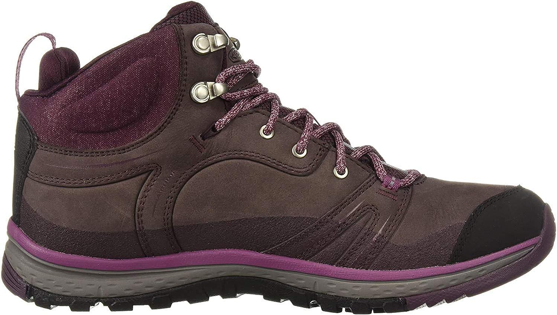 KEEN Women s Terradora Leather Mid Waterproof Hiking Boot