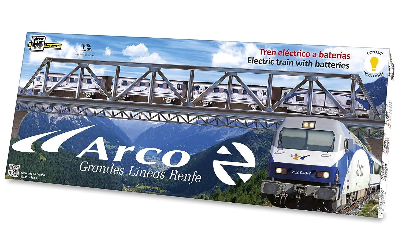 PEQUETREN - Arco Renfe, Tren con Circuito de 4.4 m (Servicios e Industrias del Juguete 525)