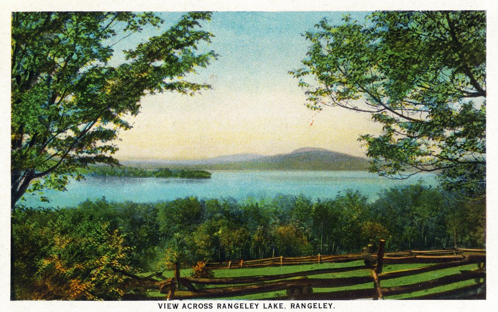 Rangeley、メイン州 – ビューAcross Rangeley湖 36 x 54 Giclee Print LANT-18971-36x54 B01M8LQFAO  36 x 54 Giclee Print