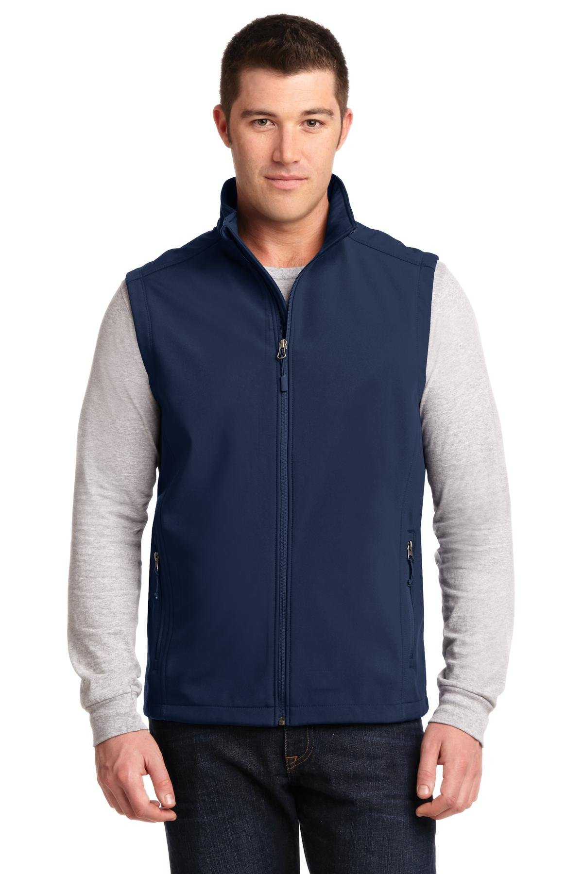 Port Authority Men's Core Soft Shell Vest XL Dress Blue Navy