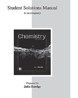 Chemistry julia burdge 9780073402734 amazon books student solutions manual for chemistry student solutions manual for chemistry julia burdge fandeluxe Gallery