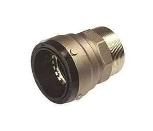 SharkBite SB115450M Connector, 2-Inch x 2-Inch