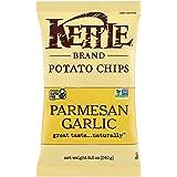 Kettle Brand Potato Chips, Parmesan Garlic Kettle Chips, 8.5 Oz