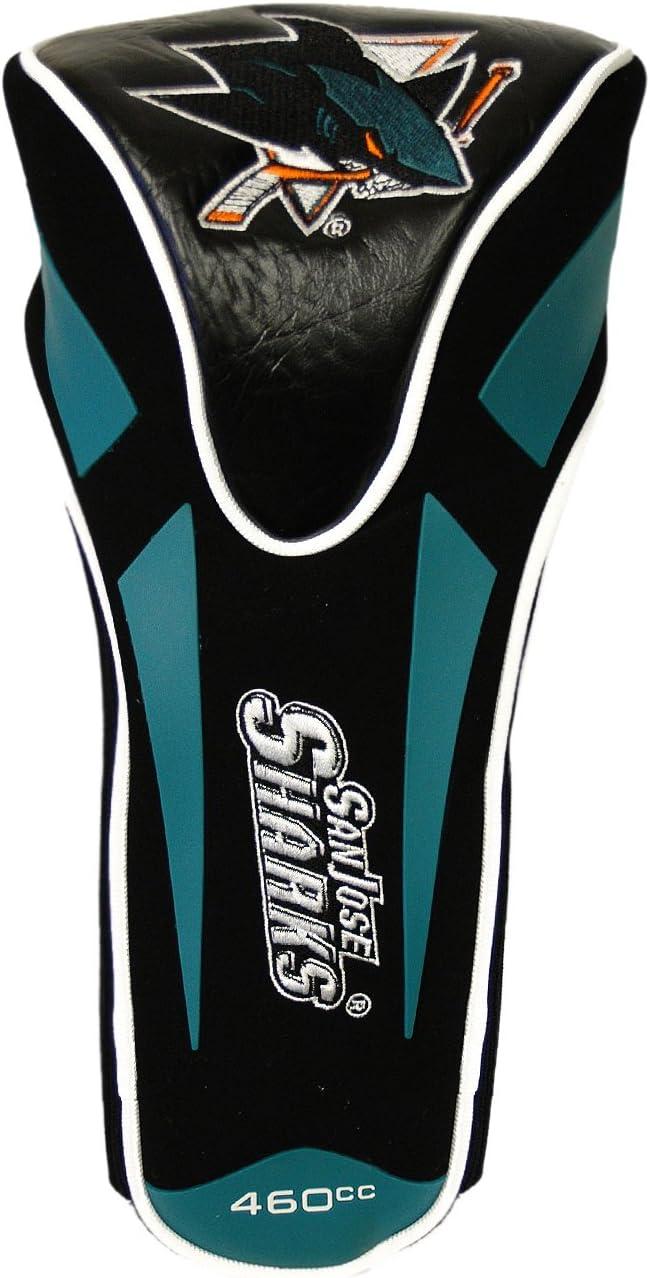 Team Golf NHL San Jose Sharks Golf Club Single Apex Driver Headcover, Fits All Oversized Clubs, Truly Sleek Design : Sports Fan Golf Club Head Covers : Sports & Outdoors