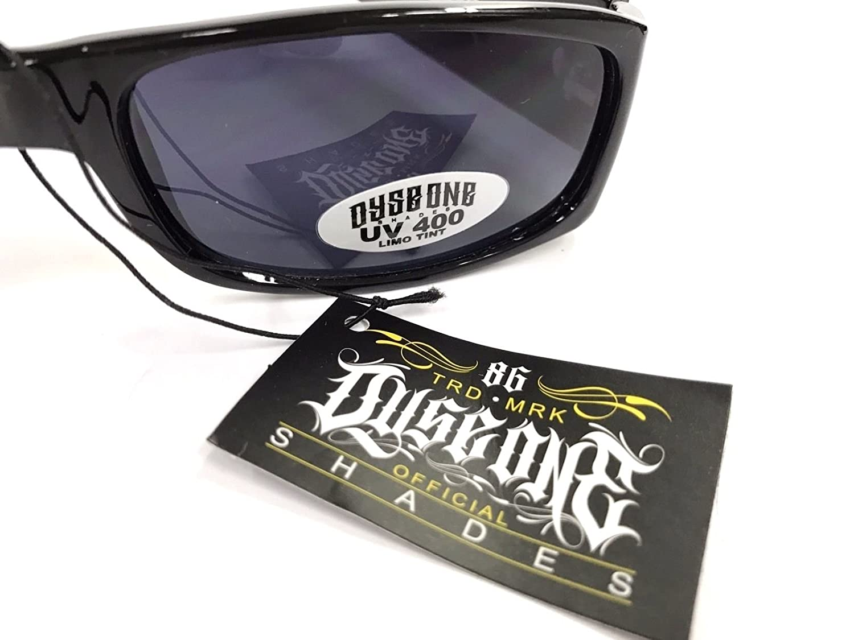 Authentic Dyse One Shades Cali Love Bear Black Sunglasses California Lowrider Style