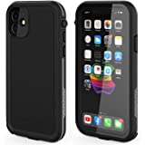 Love Beiddi - Funda impermeable para iPhone 11 (compatible con iPhone 11), color negro y gris
