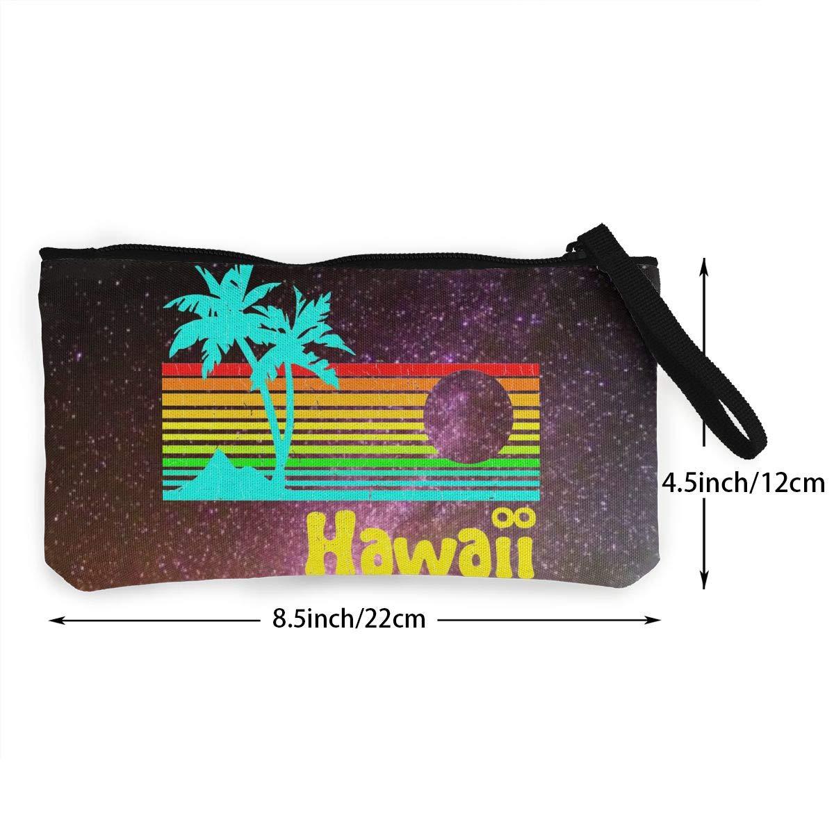Serity Hawaii - Monedero portátil de Lona para Mujer y niña ...