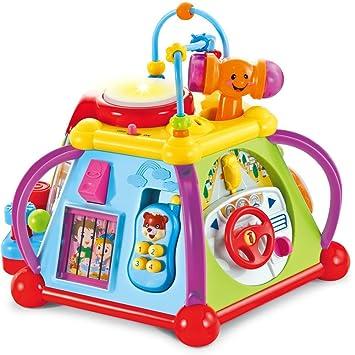 3429c4ef43e85 Amazon.com  PloyGame Baby Preschool Musical Fun Toy