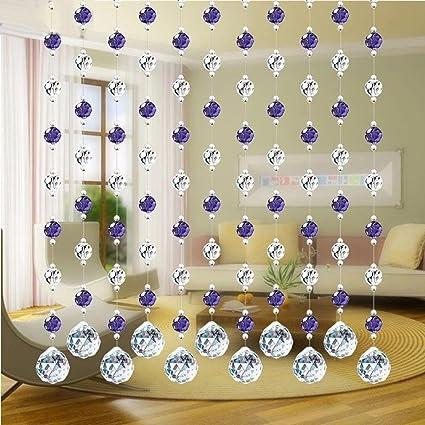 Turquie de luxe Perle en verre pour porte Cordes Tassel Rideau de ...