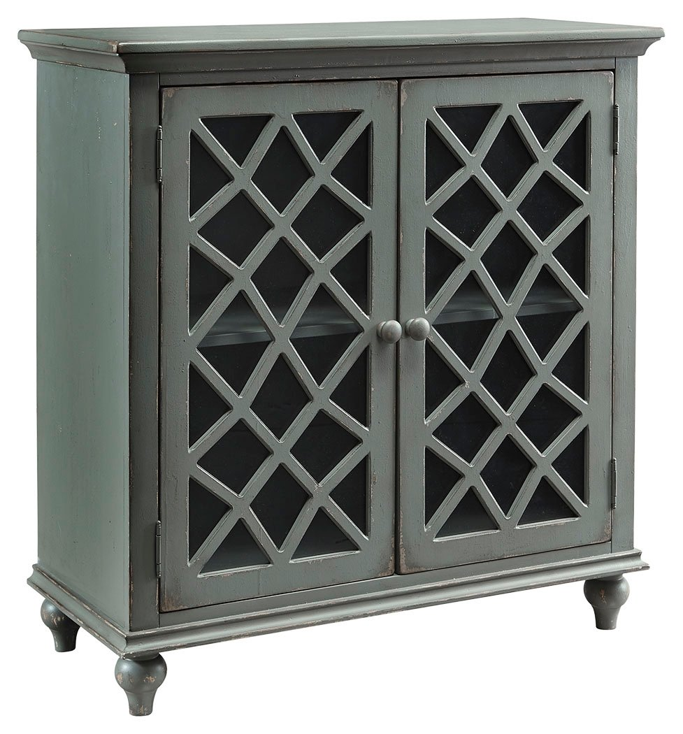 Signature Design by Ashley T505-642 Mirimyn Accent Cabinet with Doors, Whitewash