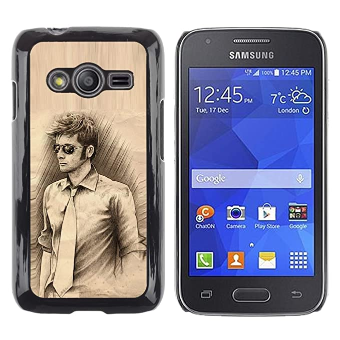 Carcasa de plástico funda | | Samsung Galaxy Ace 4 | | Hombre ...