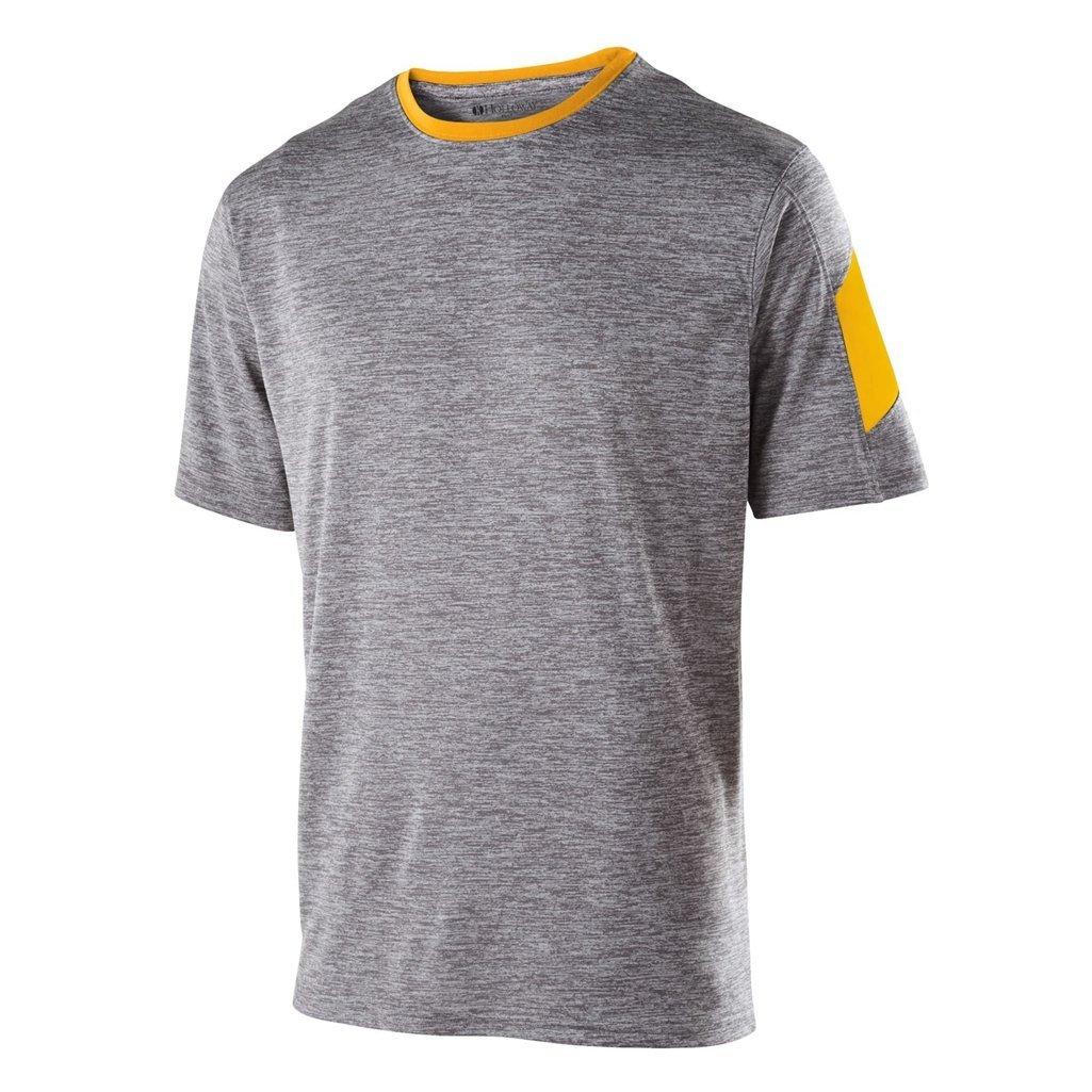 お待たせ! Holloway Dry Excel Youth Electronシャツ( Excel Medium Heather , Graphite Graphite Heather/ライトゴールド) B01FV1ND2E, 長生村:c1257034 --- ciadaterra.com