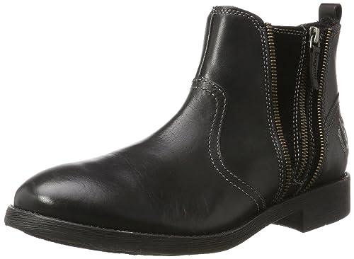 Bugatti F70531 - Botines de Cuero Hombre, Color Negro, Talla 42 EU: Amazon.es: Zapatos y complementos