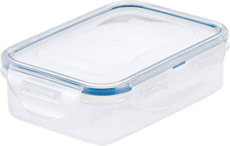 Lock & Lock Classic Stackable Airtight Rectangle Food Container, 360ML (HPL-810)