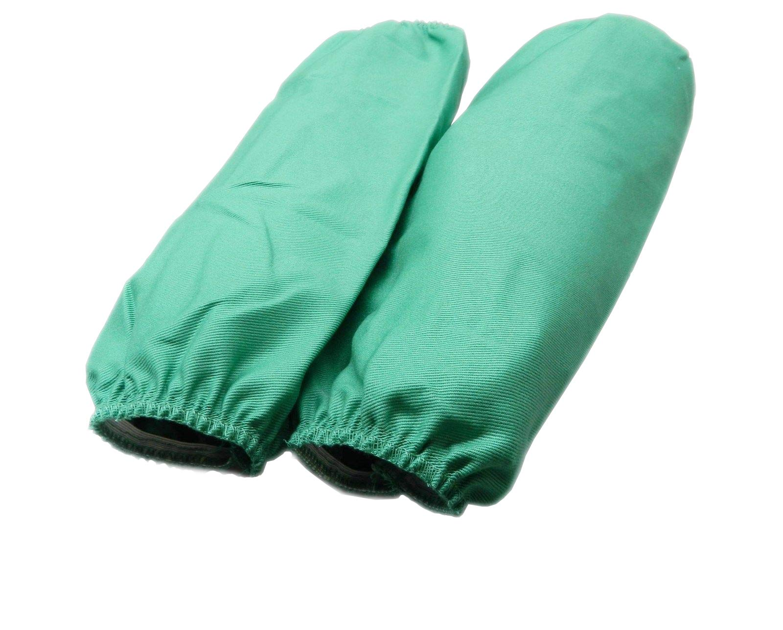 18'' Sleeves Green Flame Resistant Welding Sleeves Cotton 5 Pairs