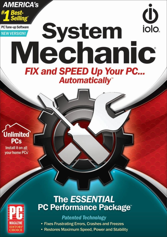 B009AYHI8O System Mechanic - Unlimited PCs 71VdqRzw0jL