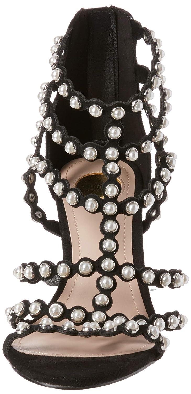 Buffalo Damen Pearled Pearled Damen IMI Suede Stiefeletten 985b73