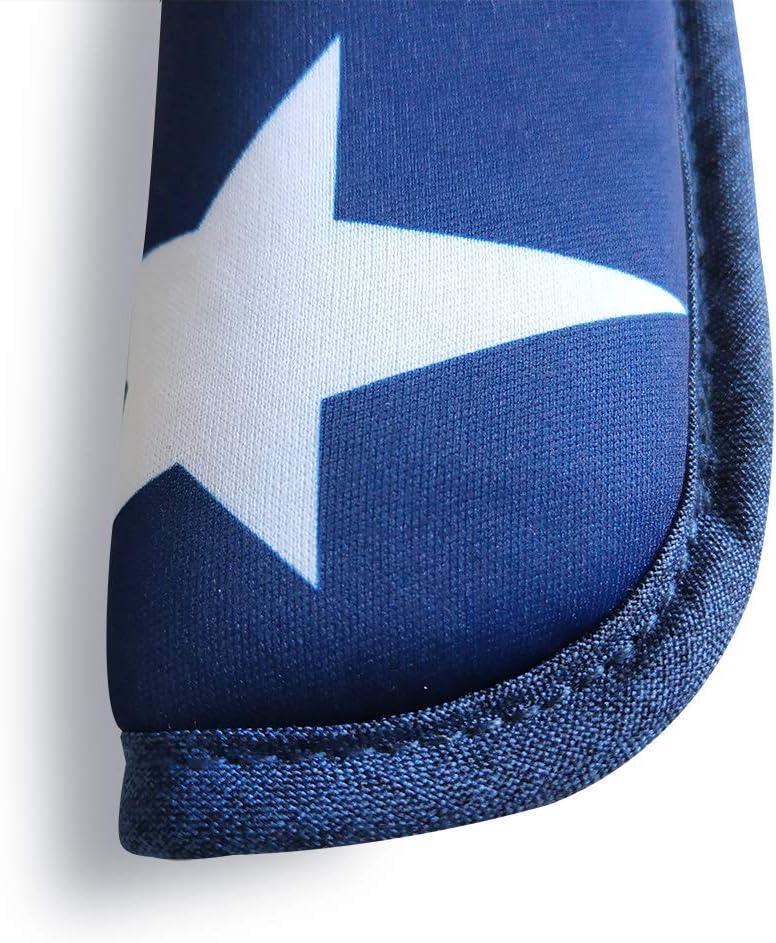 Blanc 2 pi/èces b/éb/é poussette sangle de si/ège de voiture couvre universelle coussin de ceinture de si/ège souple pour nouveau-n/és nourrissons et enfants