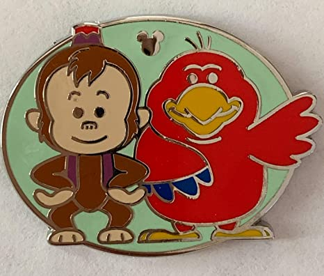 WDW Hidden Mickey 2019 Duos Simba Zazu Chaser Disney Pin 134119