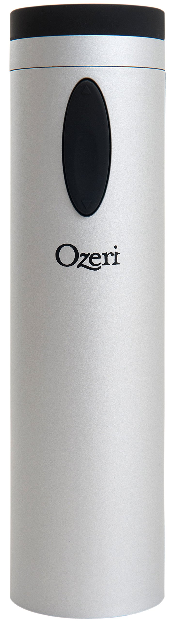 Ozeri OW08A Fascina Electric Wine Bottle Opener and Corkscrew, Silver by Ozeri