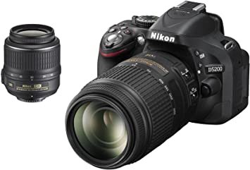 Nikon D5200 - Cámara réflex digital de 24.1 Mp (pantalla de 3 ...