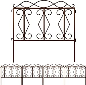 Amagabeli Decorative Garden Fence 24