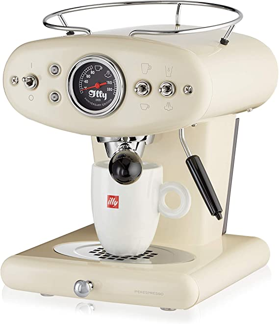 Illy Metodo X1 Anniversary Espresso y Coffee Cápsula eléctrica, 1250 W, Beige: Amazon.es: Hogar