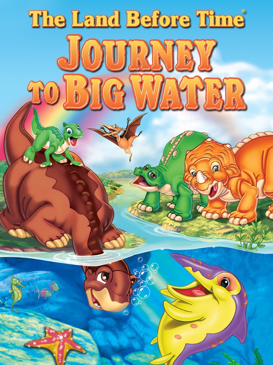 amazon com the land before time ix journey to big water kenneth