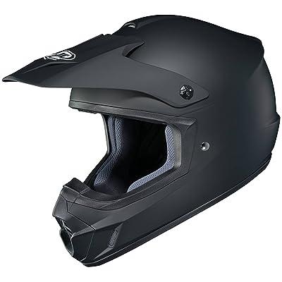 HJC Solid Adult CS-MX 2 Dirt Bike Motorcycle Helmet - Matte Black / 3X-Large